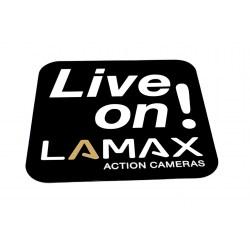 Samolepka Live On! LAMAX velká