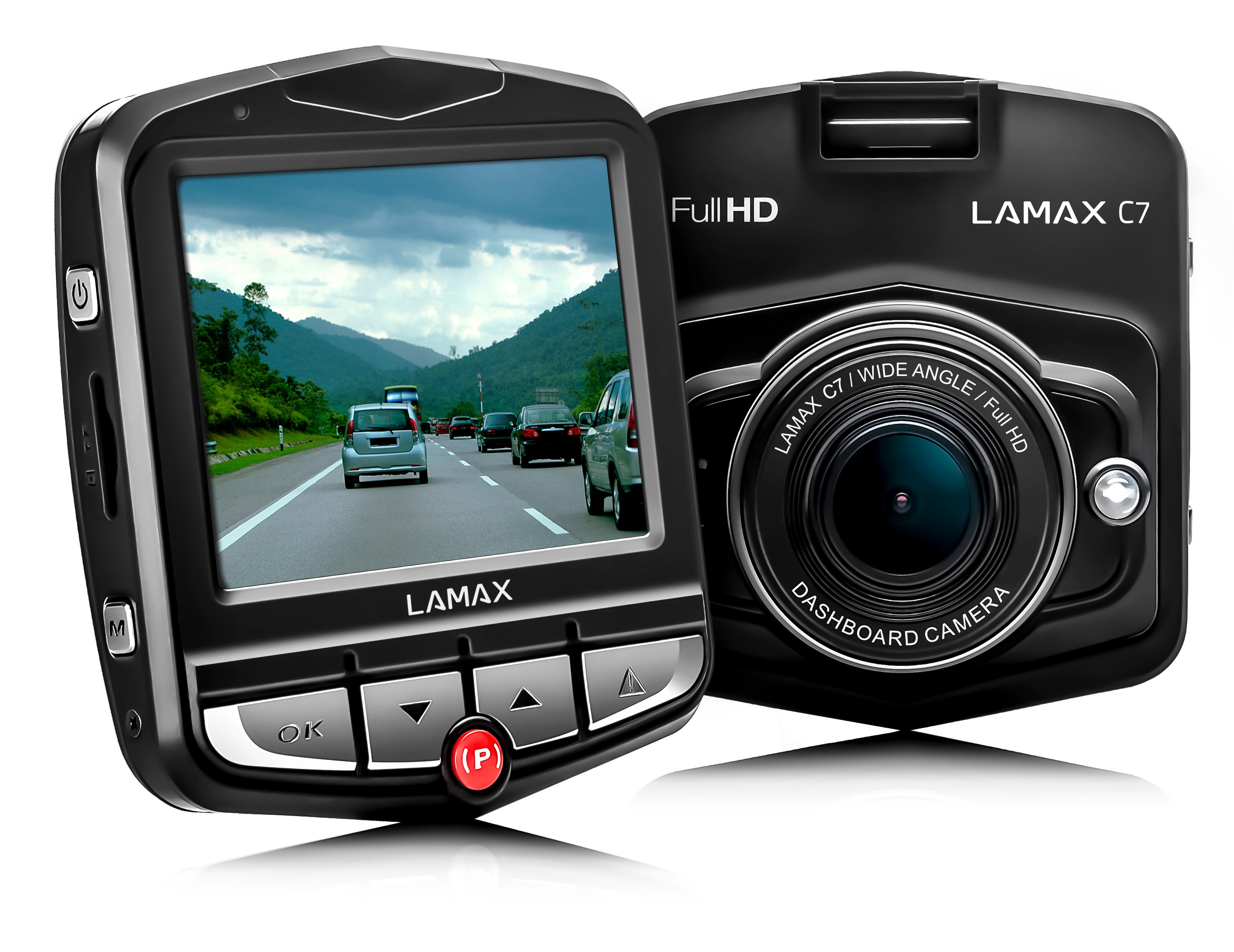 LAMAX C7 - kamera do auta