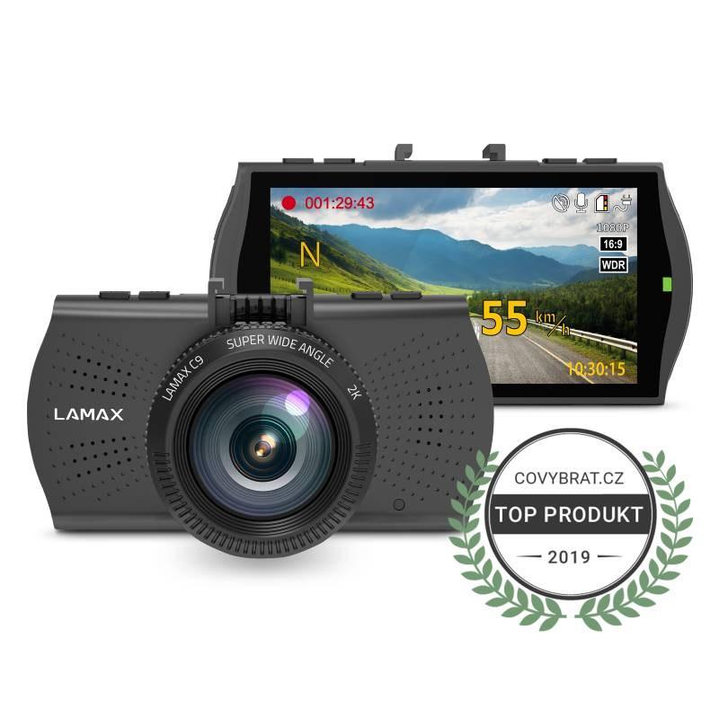 LAMAX C9 - kamera do auta