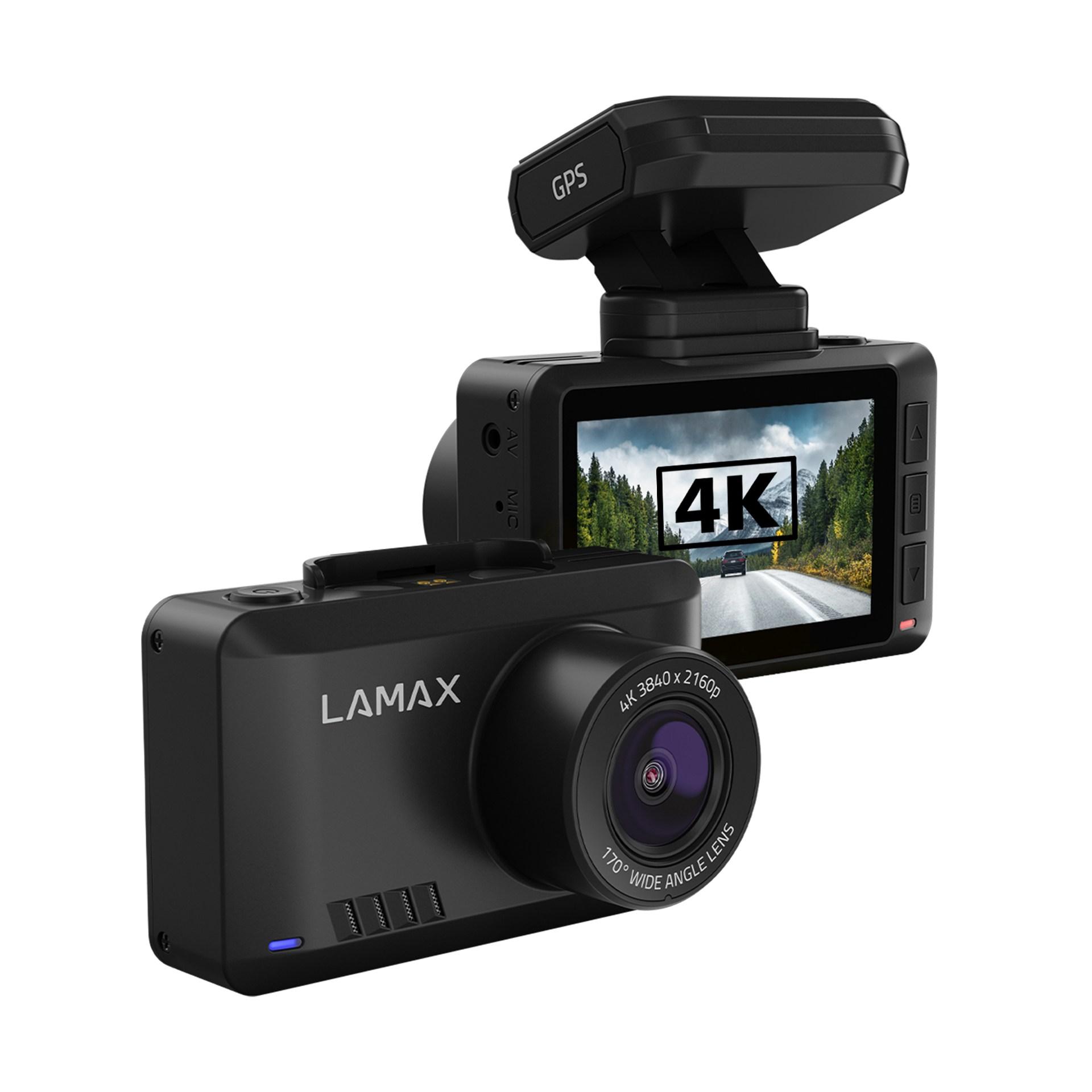 LAMAX T10 4K GPS (s hlášením radarů) - kamery do auta