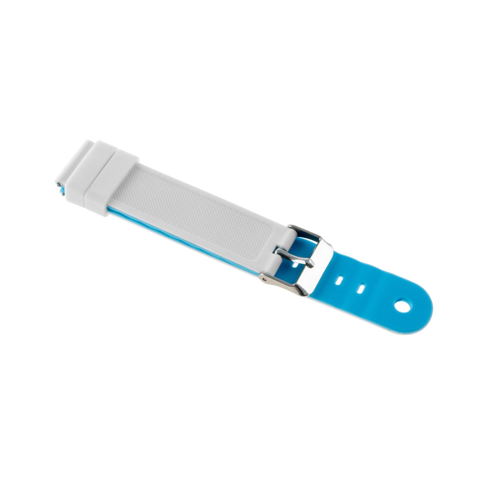 Levně LAMAX WatchY2 Blue - white strap